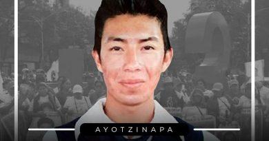 Identifican restos de normalista de Ayotzinapa, Jhosivani Guerrero
