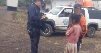 Localizan a menor que estuviera extraviada en el municipio de San Blas