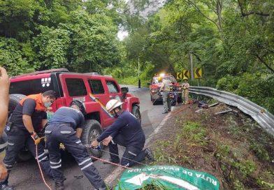 Trágico accidente se registra sobre la carretera federal 200 sur
