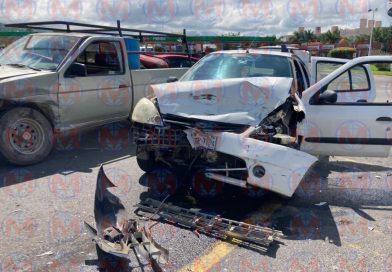 Una mujer herida tras accidente sobre el libramiento de Tepic