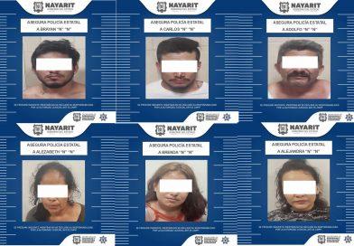 Asegura SSPC a seis personas en atención a reporte ciudadano