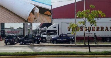 Hallan droga oculta en cilindros de gas en Villa Hermosa Tabasco